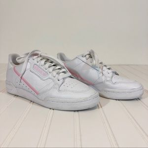 Adidas Originals White Pink Continental 80
